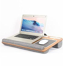 Wateralone Lap Desk Laptop Stand With Cushion On