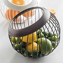 Wateralone Metal Wire Fruit Basket Countertop