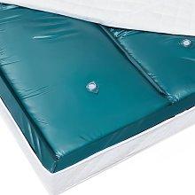 Waterbed Mattress 180 x 220 cm Dual Blue Vinyl