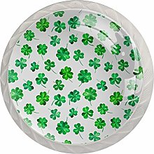 Watercolor for St. Patrick Day , 4 Pack Cabinet