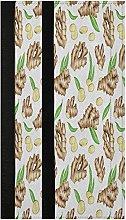 Watercolor Ginger Refrigerator Door Handle Covers