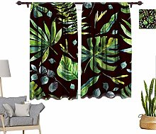 Watercolor Window Curtains, Watercolor Pattern