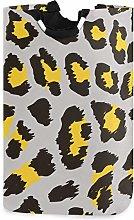 Watercolor Yellow Animal Leopard Print Grey Laudry