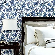 Watercolour Floral Adhesive Wallpaper
