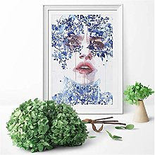 Watercolours Painting Agnes Cecile Style Canvas