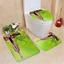 Waterfall Series Waterproof Shower Curtain Toilet