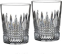 Waterford Lismore Diamond Barware Tumbler Pair