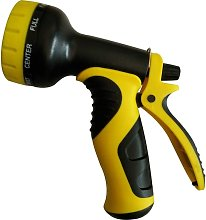 Watering pipe nozzle with adjustable jets,