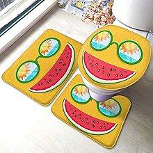 Watermelon Bathmat,Sunglasses With Reflection Of