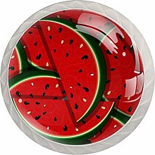 Watermelon Pattern Drawer Knobs Pulls Cabinet