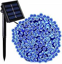 Waterproof 500 LED Solar String Lights Power Fairy