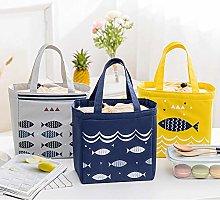 Waterproof Anime Cute Fish Lunch Bag Cooler Bag