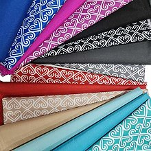 Waterproof Canvas Fabric Material, 21 Colours for