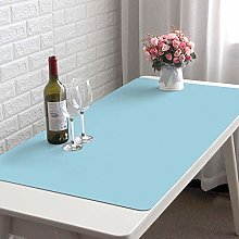Waterproof Desk Pad Protector, PU Leather Extended