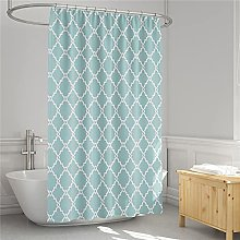 Waterproof Fabric Shower Curtain with Hooks,