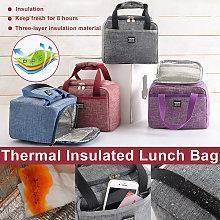 Waterproof Food Storage Bag Oxford Lunch Bag