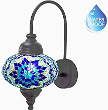 Waterproof Handmade Turkish Lamp Ottoman Style