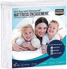 Waterproof Mattress Encasement - Zippered Bed Bug
