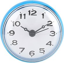 Waterproof mini wall clock with suction cups for