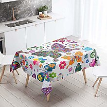 Waterproof Rectangle Tablecloth, Chickwin Nordic