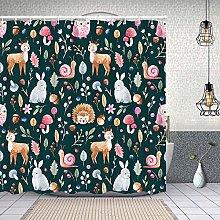 Waterproof Shower Curtain,childrens pattern