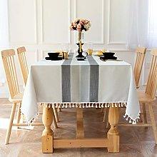Waterproof Table Cloth, Wedding tablecloth, Linen