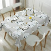Waterproof Tablecloths, Coffee Table Mat, Non-slip