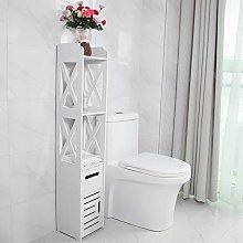 Waterproof Tall Bathroom Cabinet Storage
