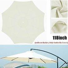 Waterproof Umbrella 300cm Beach Umbrella Cloth