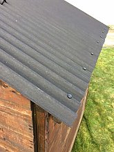 Watershed Roofing kit for 10x14f