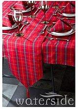 Waterside Festive Tartan Table Linen Set