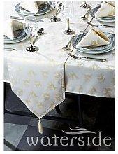 Waterside Reindeer Jacquard Chrsitmas Table Linen