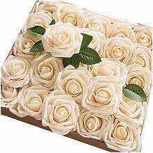 Watopi Artificial Flowers Gift Look Real Foam