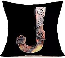 Watopi Black Gold Copper Pillowcase, Metal
