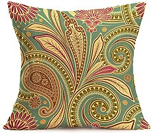 Watopi Boho Cushion Cover, Geometric Pattern,