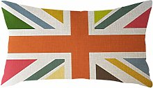Watopi Classic National Flag Rectangle Cushion