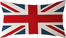 Watopi Classic Union Jack Rectangle Cushion Cover