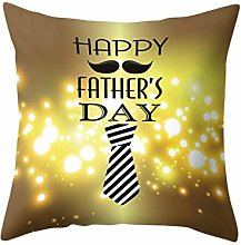 Watopi Cushion Cover Creative Father's Day
