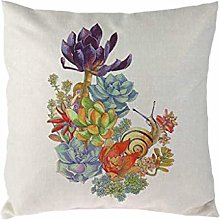 Watopi Cushion Cover Summer Cactus Succulent