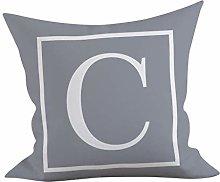 Watopi English Letter Pillowcase, Nursery Alphabet