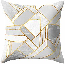 Watopi Geometric Mosaic Throw Pillow Case,Triangle