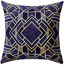 Watopi Geometric Mosaic Throw Pillow Case,Triangle