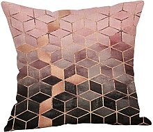 Watopi Gold Foil Printing Cushion Cover, Marble