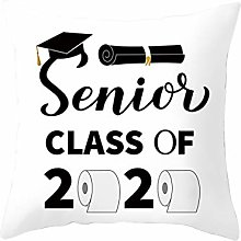 Watopi Graduation Gifts 2020 Cotton Cushion Cover
