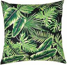 Watopi Green Gold Foil Printing Cushion Cover,