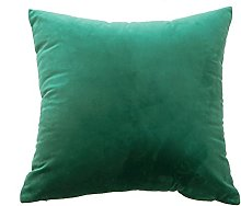 Watopi Green Gold Velevet Cushion Cover, Marble