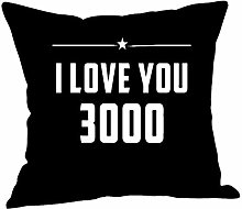 Watopi Love You 3000, Soft Cotton Linen Cushion