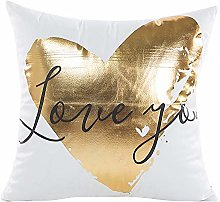 Watopi Noble Gold Foil Stripes Cushion Cover Super