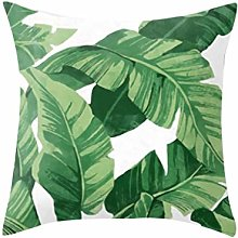Watopi Rainforest Leaf Geometric Painting Cover,