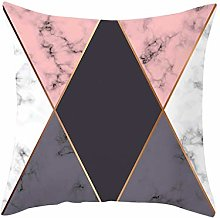 Watopi Rose Pink Grey Lines Geometric Marble